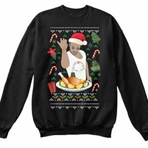 Salt Bae Butcher Christmas Jumper Black