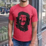 Che Guevara Barry Chuckle T Shirt Red A