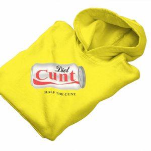 Diet C**t Hoody Yellow