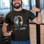House Stark T Shirt Black B