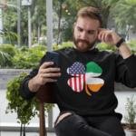 American Irish St Patricks Day Jumper
