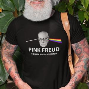 Pink Freud Funny T Shirt